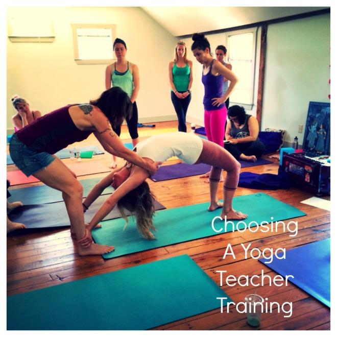 Choosing A Yoga Teacher Training